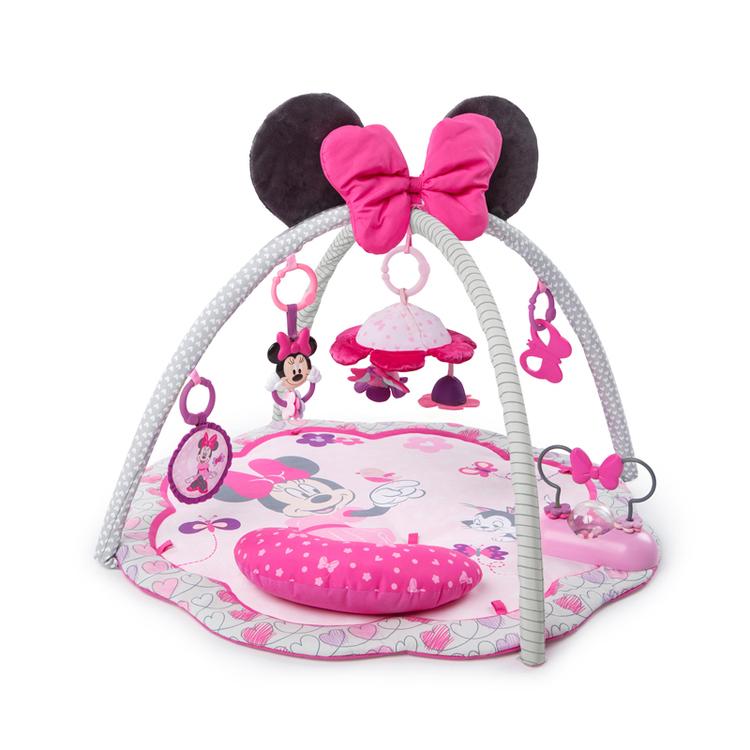 Disney Mimmi Pigg Exklusiv Babygym m Leksaker o Melodier Fr 0+