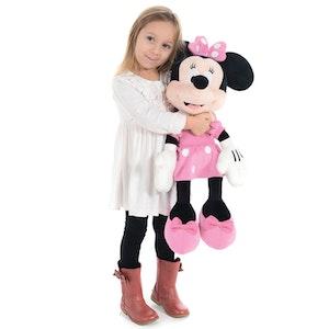 Disney Mimmi Pigg Med Rosa Klänning -  XLarge Gosedjur ca 65cm