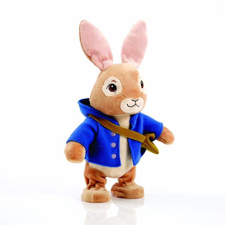 Pratande och hoppande Peter Rabbit Gosedjur. 40cm. Fr 18mån