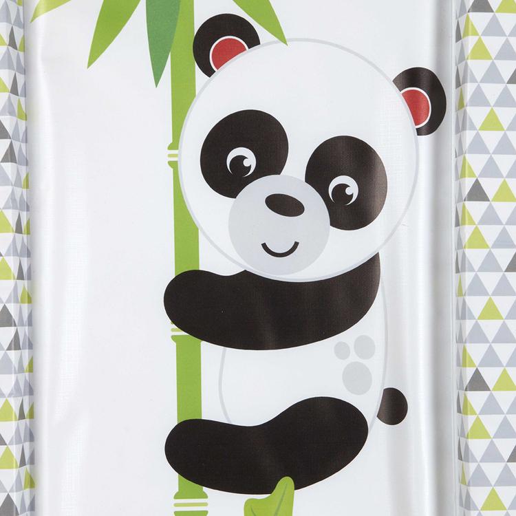 Fisher-Price Panda Skötbädd för spädbarn och 3Pack Antibakteriella servetter Dödar 99,9% av bakterier