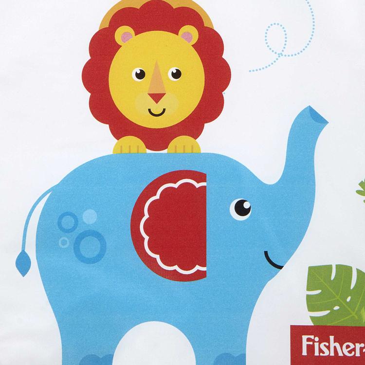Fisher Price Reach the Sky Skötbädd för spädbarn och 3Pack Antibakteriella servetter Dödar 99,9% av bakterier