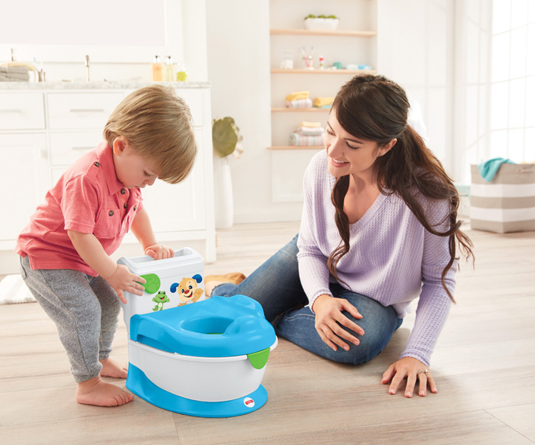 Fisher-Price Potta - Laugh and Learn with Puppy Potty - FR 0+