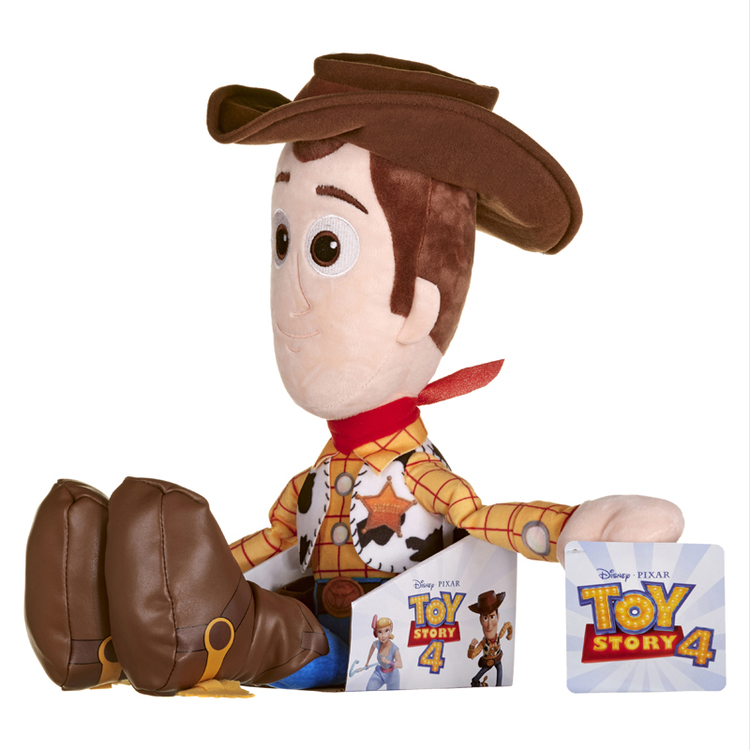 XL Disney Toy Story 4 Plysh Woody - 56cm. Fr 3år +