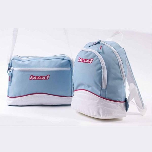2Delar - Ryggsäck väska och Messenger axelremsväska
