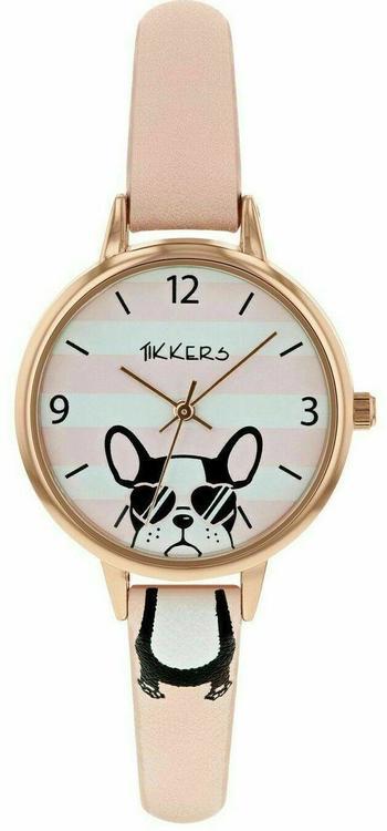 Fransk bulldog barnklocka set m armband o purse
