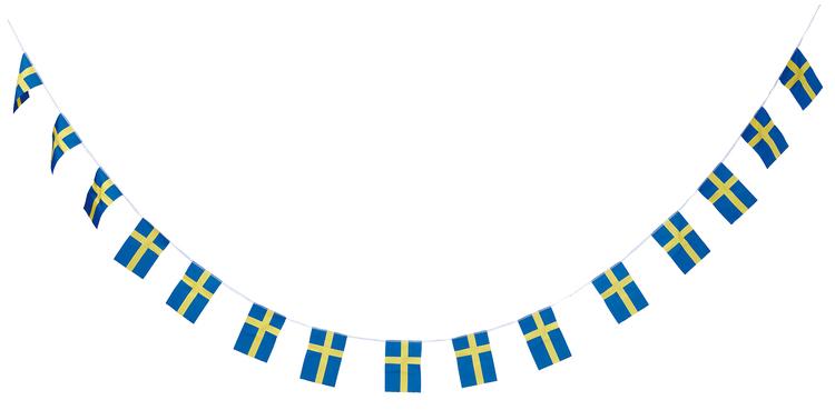 Flaggspel svenska flaggan 6m