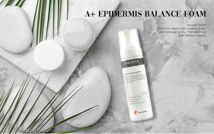 Epidermis Balance Foam