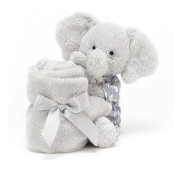 Bedtime elephant snuttefilt