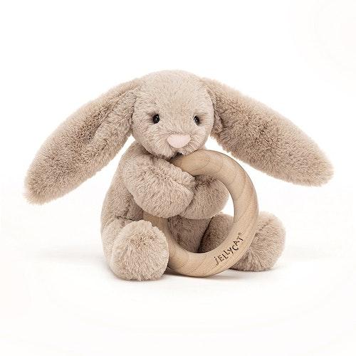 Bashful Bunny - skallra med bitring