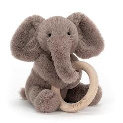 Shooshu Elephant - skallra med bitring
