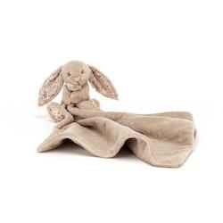 Blossom Bea Beige Bunny Snuttefilt