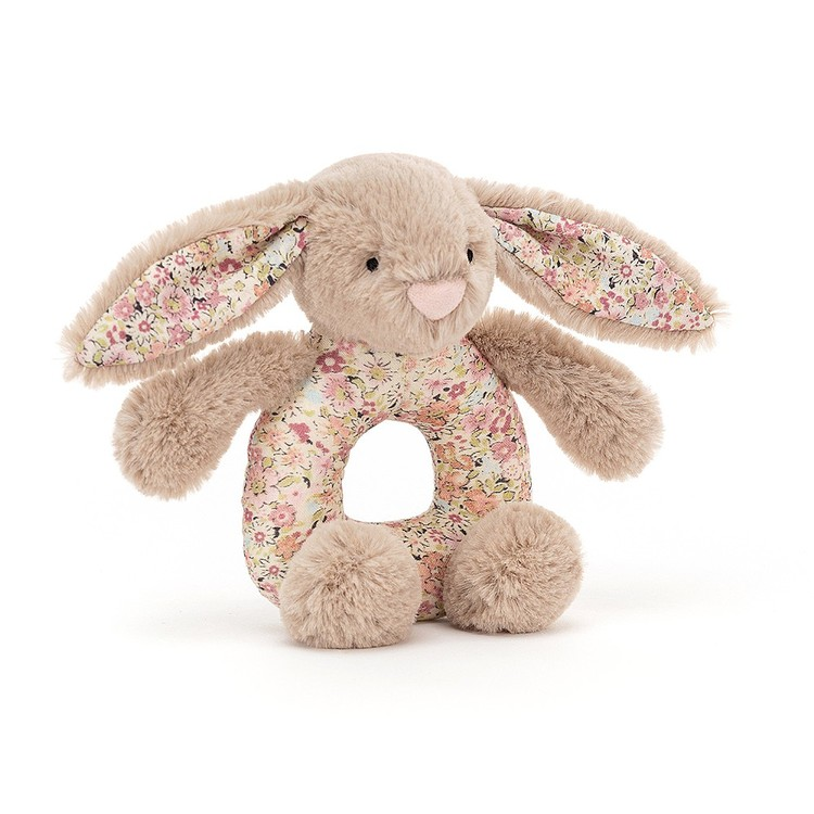 Blossom Bea Beige Bunny skallra