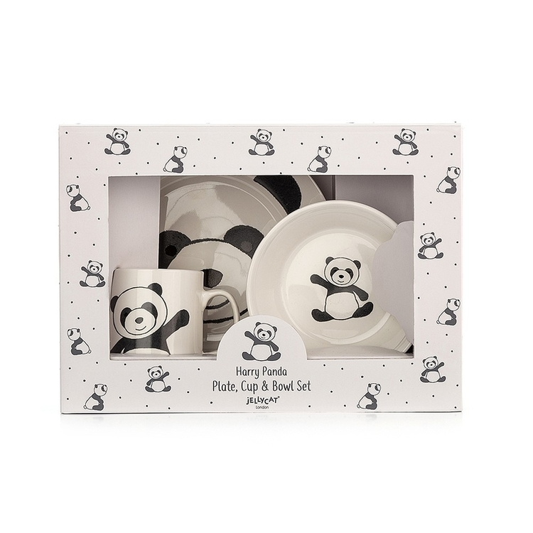 Harry panda porslins set