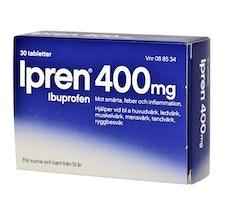 Ipren 400 mg 30 tabletter