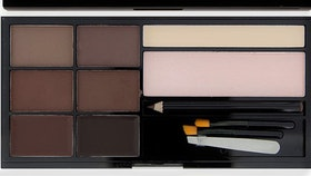 Revolution Ultra Brow Palette Medium To Dark