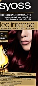 SYOSS COLOR OLEO INTENSE 4-23 BURGUNDY RED