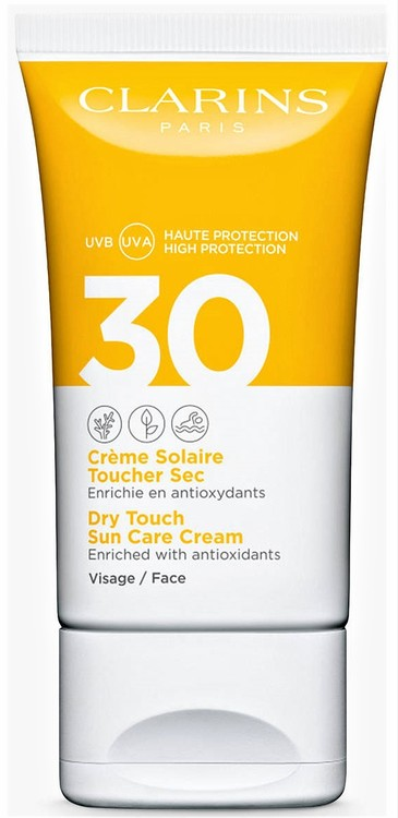 Clarins Dry Touch Sun Care Face Cream SPF30 50 ml
