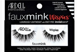 Faux Mink Wispies False Lashes Black Ardell