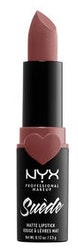 Suede Matte Lipstick 05 Brunch Me NYX Professional Makeup