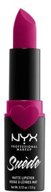 Suede Matte Lipstick 11 Sweet Thooth NYX Professional Makeup