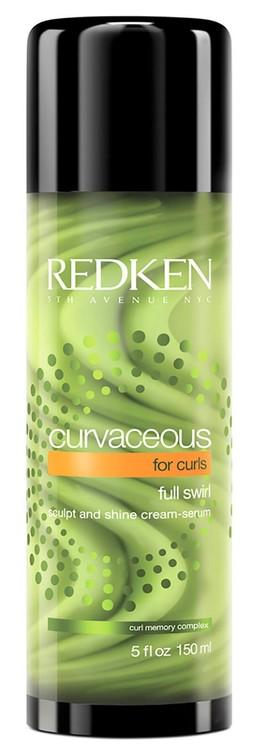 Curvaceous Full Swirl Cream-Serum -Redken