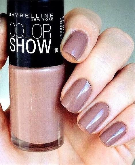 Maybelline Colour Show Nail Polish - 7 ml, 150 Mauve Kiss