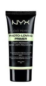 NYX Professional Makeup-Studio Perfect Photo-loving Primer Anti-Redness 02 Green 30ml