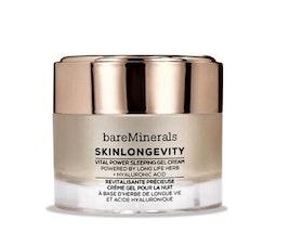 bareMinerals - Skinlongevity™ Vital Power Sleeping Gel Cream - nattkräm - clear - 0 bareMinerals - Skinlongevity™ Vital Power Sleeping Gel Cream - nattkräm - clear - 1 DETALJER INGREDIENSER LEVERANS &