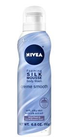 Kopia Nivea Silk Mousse Vanilla Caramel Bodywash