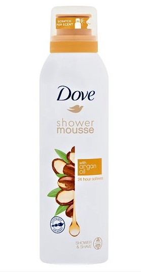 Dove Shower Mousse Argan Oil 200 ml