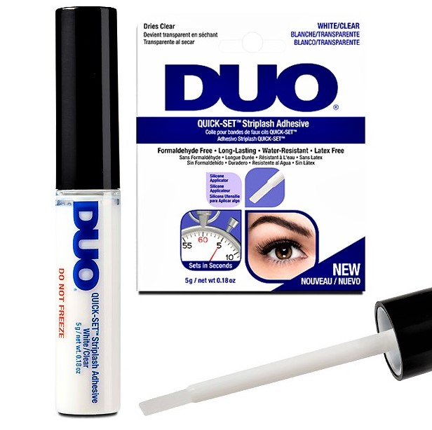 Ardell DUO Quick-Set Brush-On Lash Adhesive Clear DUO Quick-Set Lash Adhesive Clear