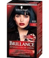 Schwarzkopf Brillance Intensive Color Creme -  891 Blue black