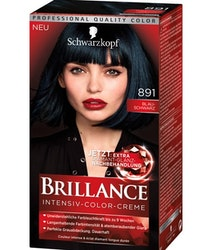 Schwarzkopf Brillance Intensive Color Creme -  891 Blue black