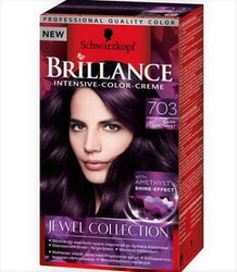 Schwarzkopf Brillance jewel collection - 703 Dark amethyst