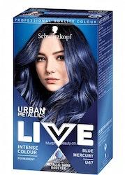 Schwarzkopf Live Color Urban Metallics- U67 Blue Mercury