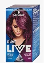 Schwarzkopf Live Color Urban Metallics- U69 Amethyst chrome