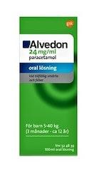 Alvedon Oral lösning 24 mg/ml 100 milliliter