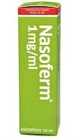 Nasoferm, nässpray, lösning 1 mg/ml 10 ml