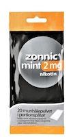 Zonnic Mint, munhålepulver portionspåse 2 mg 20 st
