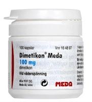 Dimetikon Meda, kapsel, mjuk 100 mg 100 st