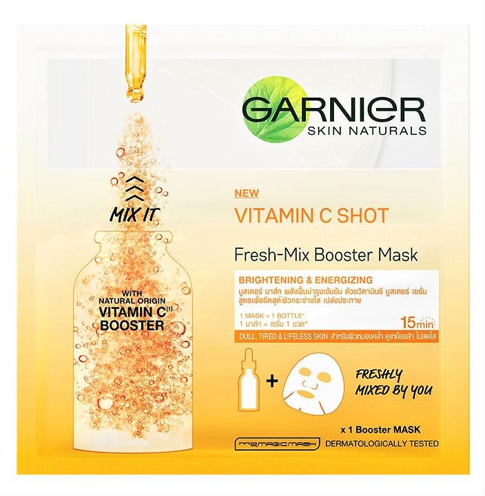 Garnier Vitamin C Shot Fresh-Mix Tissue Mask