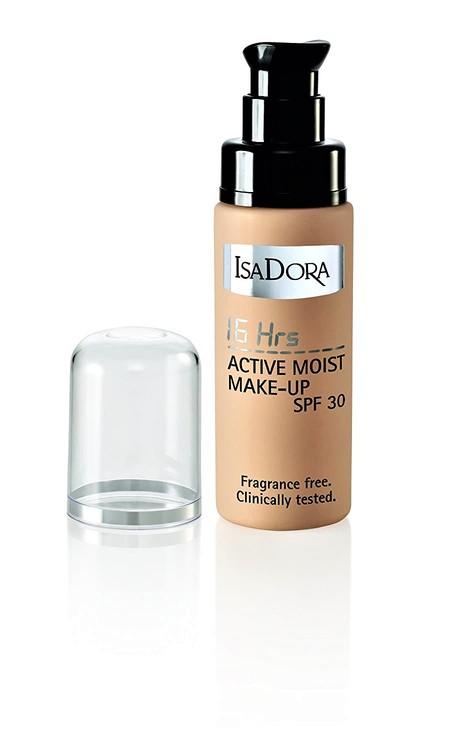 Isadora 16h Active Moist Make-up SPF 30