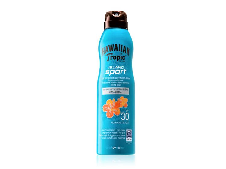 Hawaiian Tropic Island Sport Sun Protection Continuous Spray SPF 30 220ml