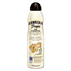 Hawaiian Tropic Silk Hydration Air Soft C-Spray Lotion SPF 15