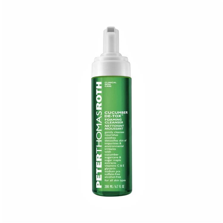 Cucumber Detox Foaming Cleanser 200 ml - PETER THOMAS ROTH