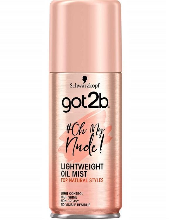 Schwarzkopf got2b #OhMyNude oil mist 100 ml