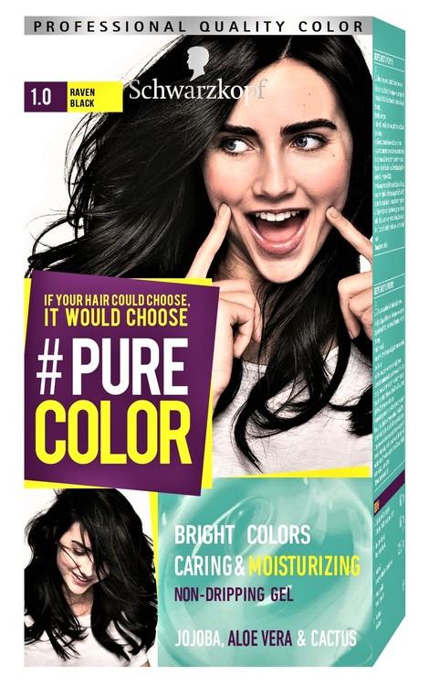 Schwarzkopf Pure Color 1.0 Raven Black
