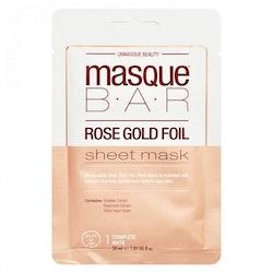 masque B.A.R Rose Gold Foil Sheet Mask