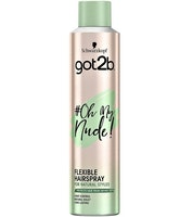 Schwarzkopf Got2b #Oh My Nude Flexible Hairspray 300ml