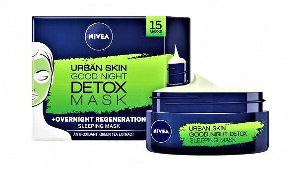 Nivea Detox Mask Urban Skin Good Night 50ml